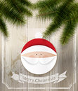 Santa claus christmas background with Royalty Free Stock Photos