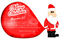 Santa claus christmas background Royaltyfria Foton