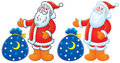 Santa Claus clipart Royalty Free Stock Photo