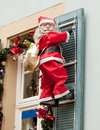 Santa claus is coming with presents Stock Photography