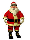 Santa claus d illustration isolated model christmas holiday Royalty Free Stock Images