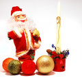 Santa Claus decoration Stock Photo