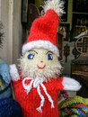 Santa claus doll beautiful romania hand made Stock Photography