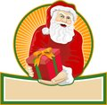 Santa Claus Father Christmas Retro Stock Photo