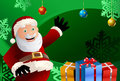 Santa claus gift Royalty Free Stock Photos