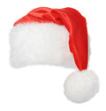 Santa claus hat isolated on white background Royalty Free Stock Photo