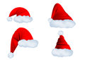 Santa claus hat isolated on a white background Royalty Free Stock Image