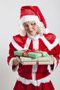 Santa Claus helper elf Royalty Free Stock Image