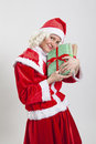 Santa Claus helper elf Stock Image