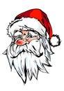 Santa Claus portrait Stock Image