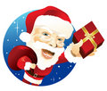 Santa Claus with presents Royalty Free Stock Photo