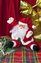Santa Claus sitting Stock Image