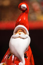 Santa Claus statuette Stock Photo