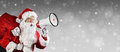 Santa Claus Talking Royalty Free Stock Photo