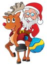 Santa Claus thematic image 1 Royalty Free Stock Image