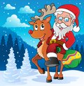 Santa Claus thematic image 2 Royalty Free Stock Photos