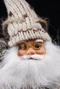 Santa Claus toy portrait Royalty Free Stock Photo