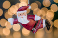 Santa Claus tree ornament Stock Image