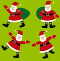 Santa Claus vector cartoon Royalty Free Stock Image