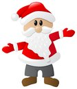 Santa claus vector illustration of on white background Stock Images
