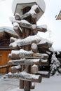Santa Claus Village, Finland Royalty Free Stock Photo