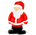 Santa claus on white background illustration Royalty Free Stock Images