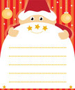 Santa claus wish list Royalty Free Stock Photo