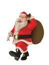Santa Clause is coming to town Royalty Free Stock Image