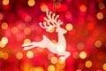Santa Clause reindeer Rudolph Royalty Free Stock Photo