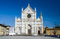 Santa Croce church in Florence, Italy Royalty Free Stock Photos