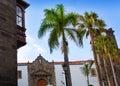 Santa Cruz de La Palma Plaza de Espana Iglesia Royalty Free Stock Image