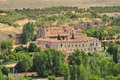 Santa Cruz la Real monastery, Segovia, Spain Stock Photography