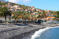 Santa cruz madeira island portugal beach in Royalty Free Stock Photo
