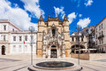The santa cruz monastery of holy cross is a national monument in coimbra portugal Stock Images