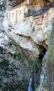 Santa Cueva de Covadonga, Cangas de Onís, Spain Royalty Free Stock Photo