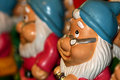 Santa dwarf figures Stock Photography