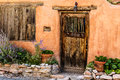 Santa Fe Door Royalty Free Stock Photo