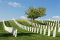 Santa Fe National Cemetery Royalty Free Stock Photo