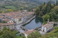 Santa fiora la peschiera one of the most beautiful medieval towns in the amiata area Stock Images