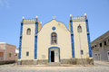 Santa isabel church boa vista cabo verde in sal rei Royalty Free Stock Images