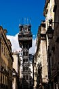 Santa Justa Elevator in Lisbon Stock Photography