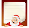 Santa List Stock Photo