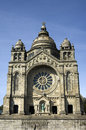 Santa luzia church viana do castelo portugal the pilgrimage sanctuary also called temple of the sacred heart of jesus the domed Stock Photo