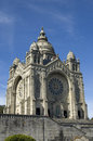 Santa luzia church viana do castelo portugal the pilgrimage sanctuary also called temple of the sacred heart of jesus the domed Royalty Free Stock Photography