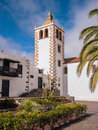 Santa maria church in betancuria fuerteventura of canary islands Stock Photography