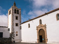 Santa maria church in betancuria fuerteventura of canary islands Stock Image