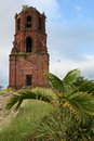 Santa maria church tower vigan philippines Royalty Free Stock Photos