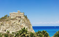Santa Maria church in Tropea Stock Images