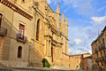 Santa Maria de Montblanc church, Spain Stock Photography