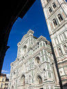 Santa maria del fiore the basilica di also called duomo in florence italy Royalty Free Stock Photography